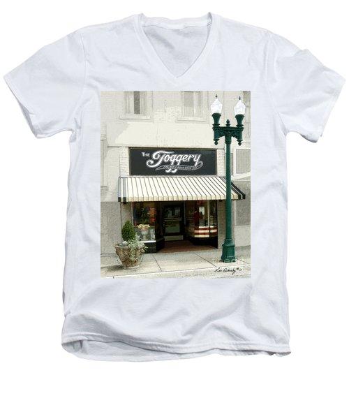 The Toggery Men's V-Neck T-Shirt