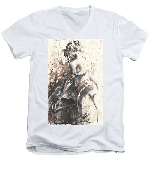 The Toilet Men's V-Neck T-Shirt