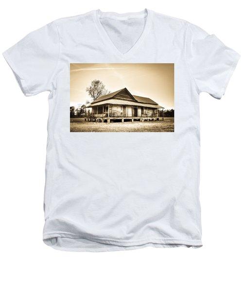The Union School Men's V-Neck T-Shirt