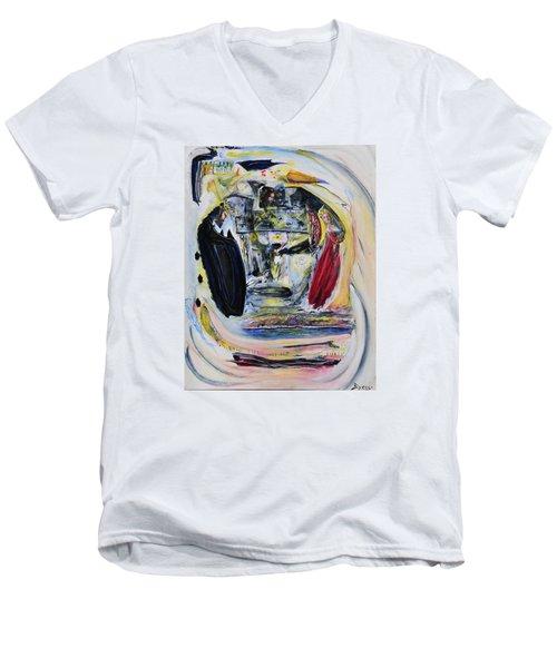 The Vision Of Ironstar Men's V-Neck T-Shirt by Kicking Bear  Productions