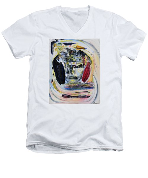 The Vision Of Ironstar Men's V-Neck T-Shirt
