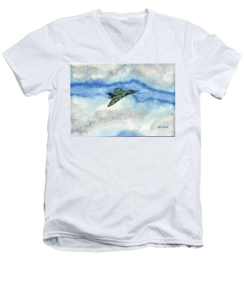 The Vulcan Bomber Men's V-Neck T-Shirt by John Williams