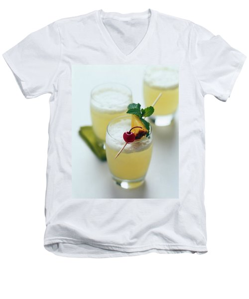 The Wahine Cocktail Men's V-Neck T-Shirt