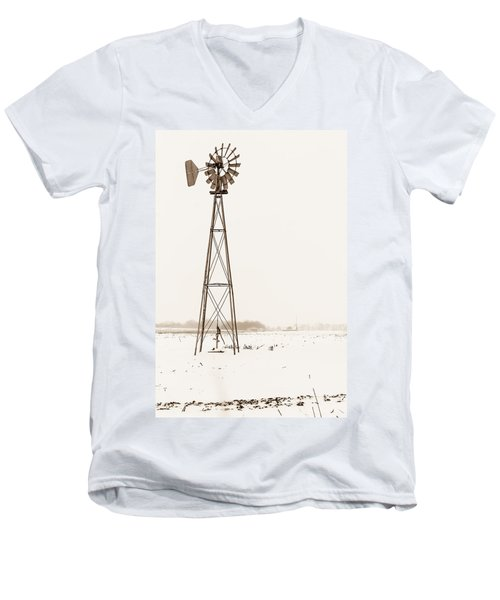 The Windmill Men's V-Neck T-Shirt