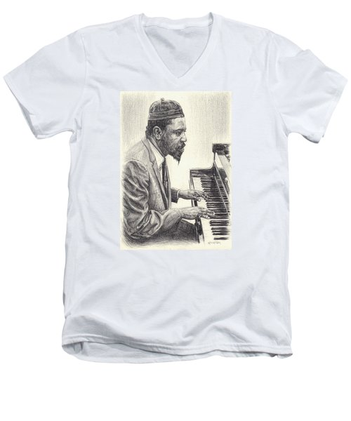 Thelonious Monk II Men's V-Neck T-Shirt