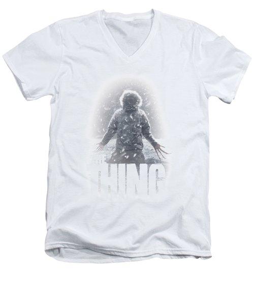 Thing - Snow Thing Men's V-Neck T-Shirt