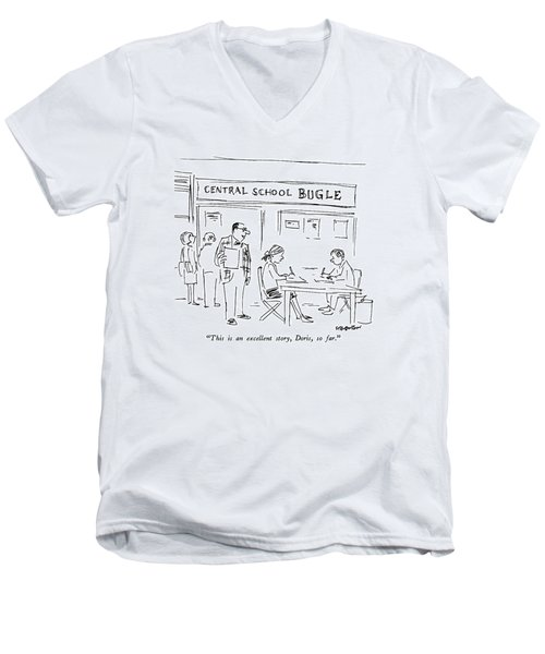 This Is An Excellent Story Men's V-Neck T-Shirt