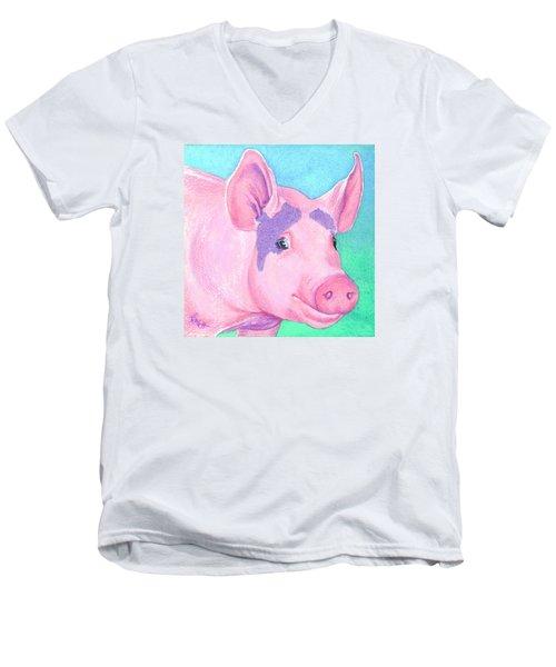 This Little Piggy Men's V-Neck T-Shirt