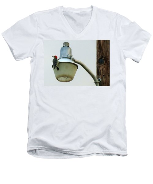 This Wood Tastes Funny Men's V-Neck T-Shirt