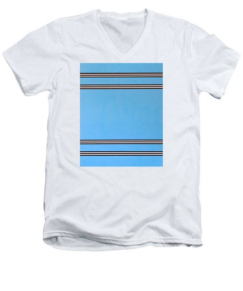 Thought Men's V-Neck T-Shirt by Thomas Gronowski