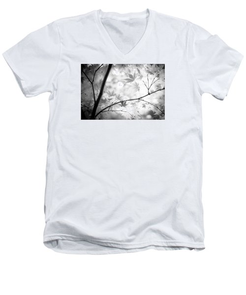 Through The Leaves Men's V-Neck T-Shirt