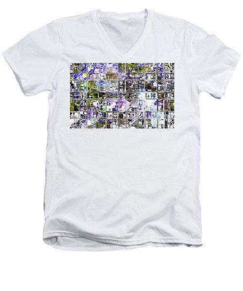 Through The Looking Glass Men's V-Neck T-Shirt by Richard Thomas