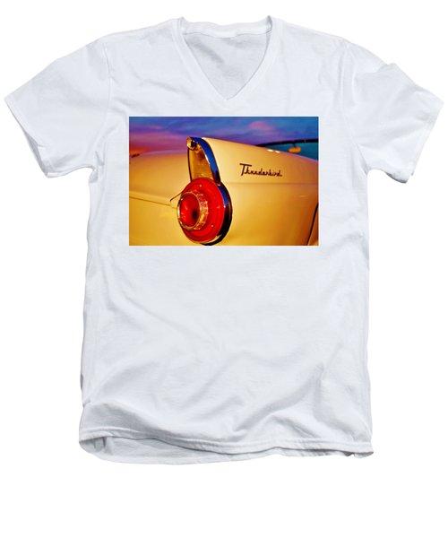 Thunderbird Men's V-Neck T-Shirt by Daniel Thompson