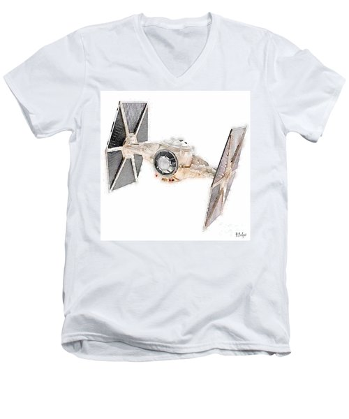 Tie Fighter Men's V-Neck T-Shirt