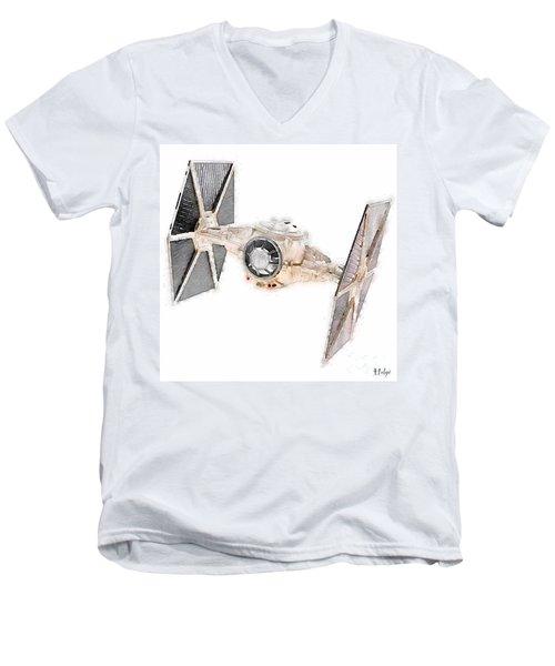 Tie Fighter Men's V-Neck T-Shirt