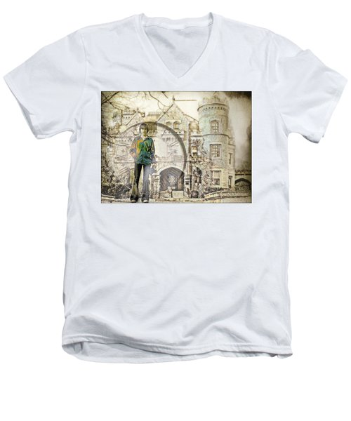 Time Lapse Men's V-Neck T-Shirt
