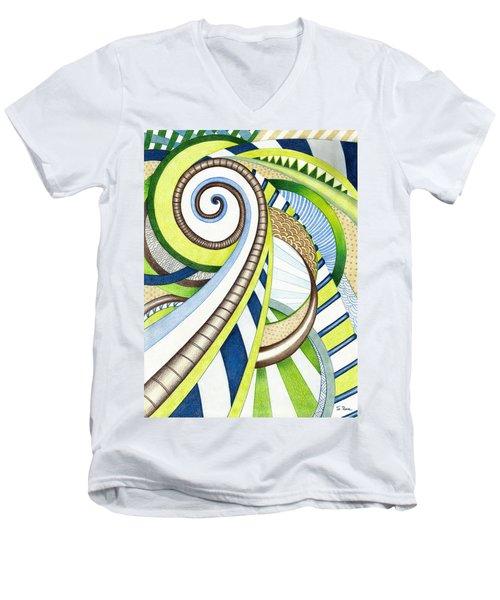 Time Travel Men's V-Neck T-Shirt