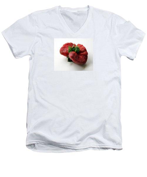 Tina's Strawberry Men's V-Neck T-Shirt