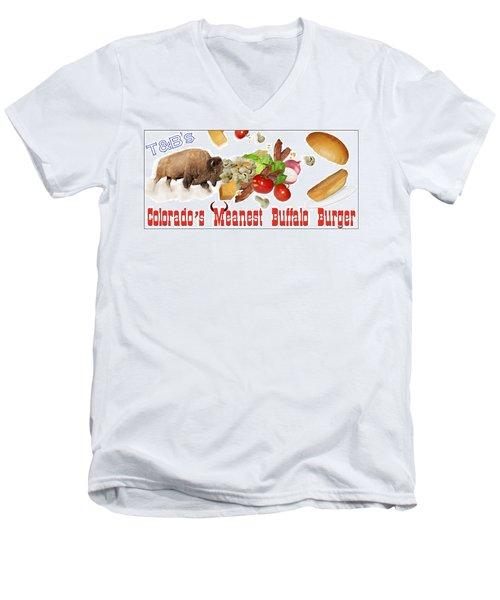 Tnb's Billboard Men's V-Neck T-Shirt