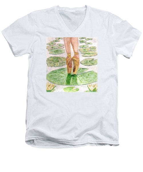 To Dance Men's V-Neck T-Shirt by Angela Davies