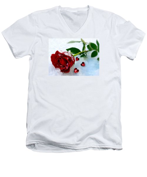 To Make You Feel My Love Men's V-Neck T-Shirt by Morag Bates