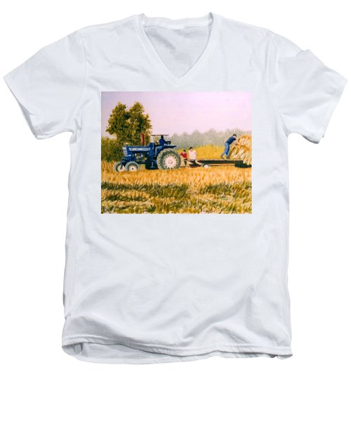 Tobacco Farmers Men's V-Neck T-Shirt