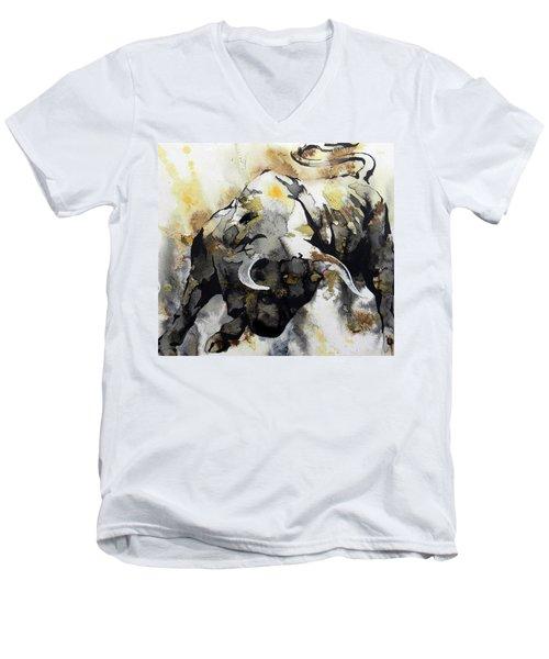 T  . O  .  R  .  O  .   A B S T R A C T Men's V-Neck T-Shirt