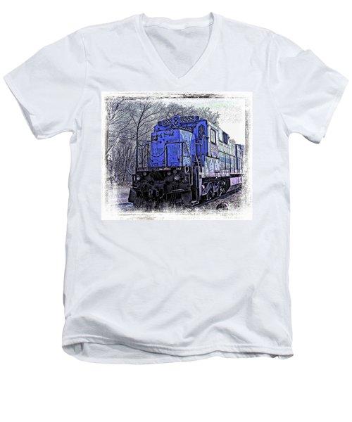 Train Series Men's V-Neck T-Shirt