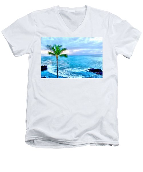 Tranquil Escape Men's V-Neck T-Shirt
