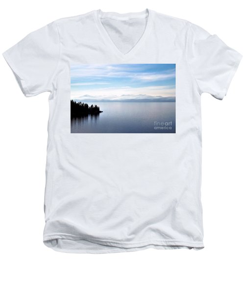 Tranquility - Lake Tahoe Men's V-Neck T-Shirt