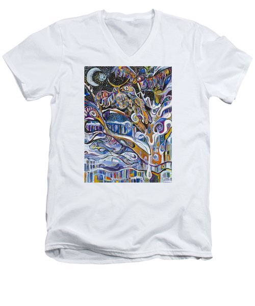 Transitions Men's V-Neck T-Shirt