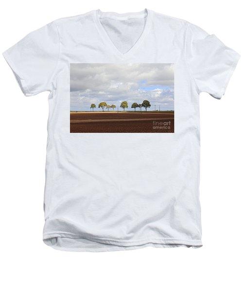 Tree Line France Men's V-Neck T-Shirt