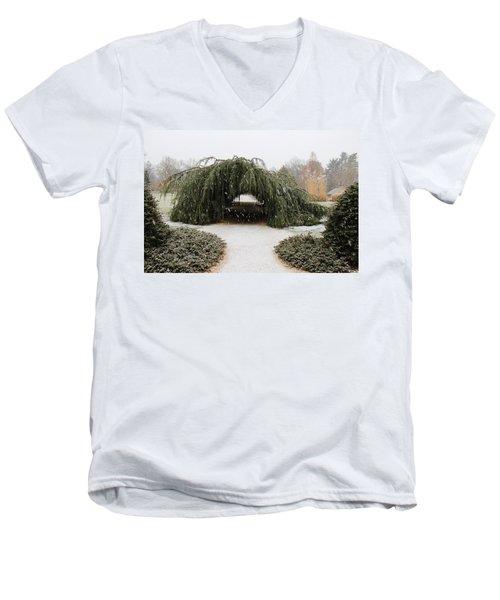 Tree Tunnel Men's V-Neck T-Shirt