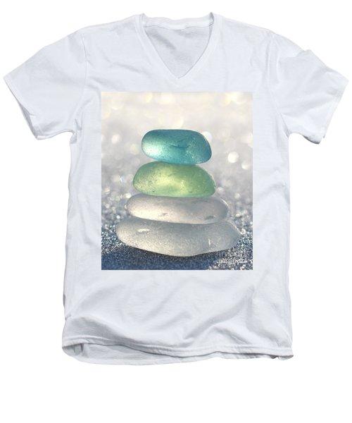 Tropical Breeze Men's V-Neck T-Shirt