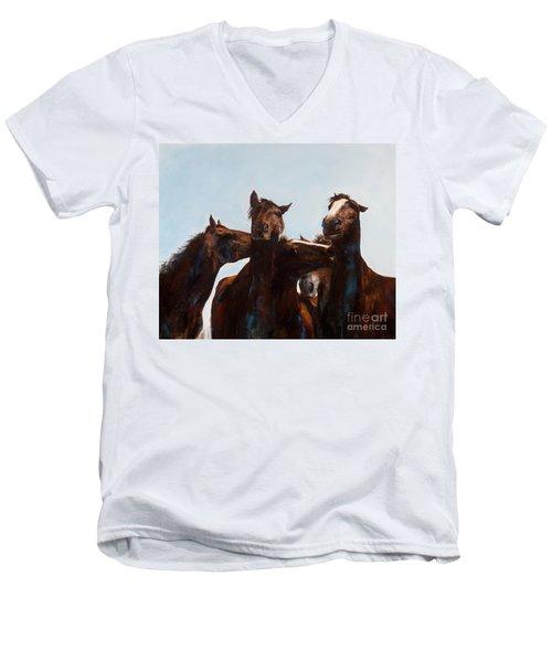 Trouble Makers Men's V-Neck T-Shirt