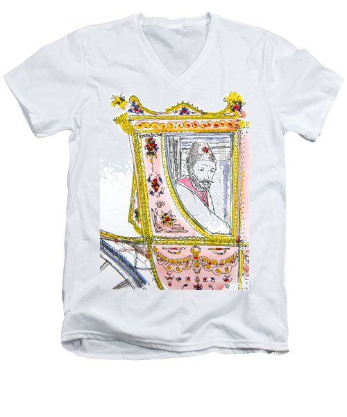 Tsar In Carriage Men's V-Neck T-Shirt