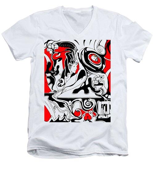 Turmoil Men's V-Neck T-Shirt