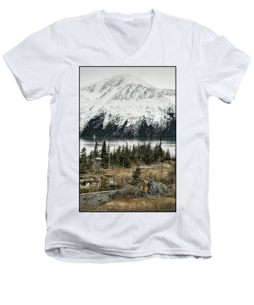 Turnagain Arm  Men's V-Neck T-Shirt