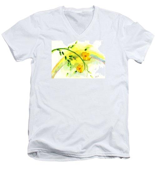 'twas By Grace Men's V-Neck T-Shirt