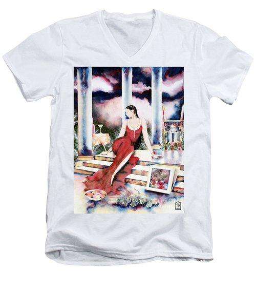Twilight Surroundings Men's V-Neck T-Shirt