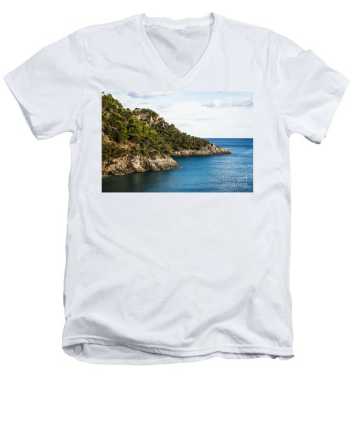 Twin Points Of Italy Men's V-Neck T-Shirt
