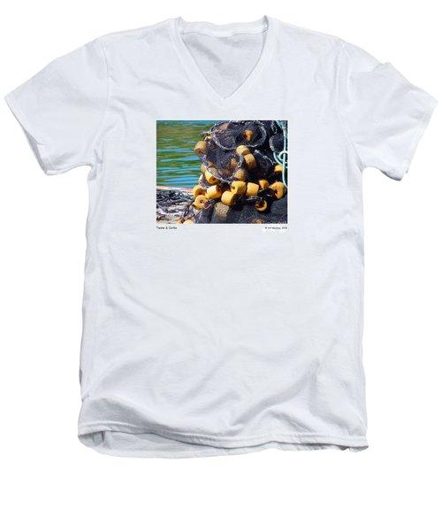 Twine And Corks Men's V-Neck T-Shirt