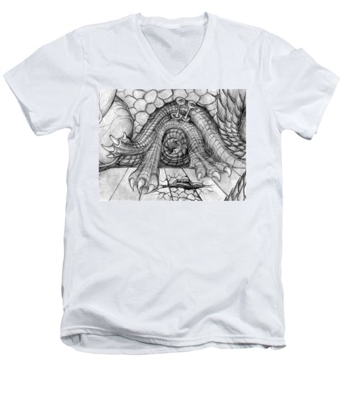 Ulcer Men's V-Neck T-Shirt