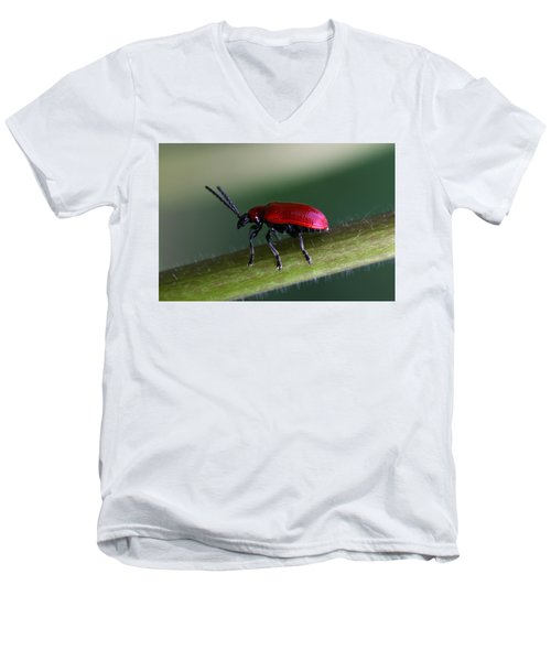 Under Way Men's V-Neck T-Shirt