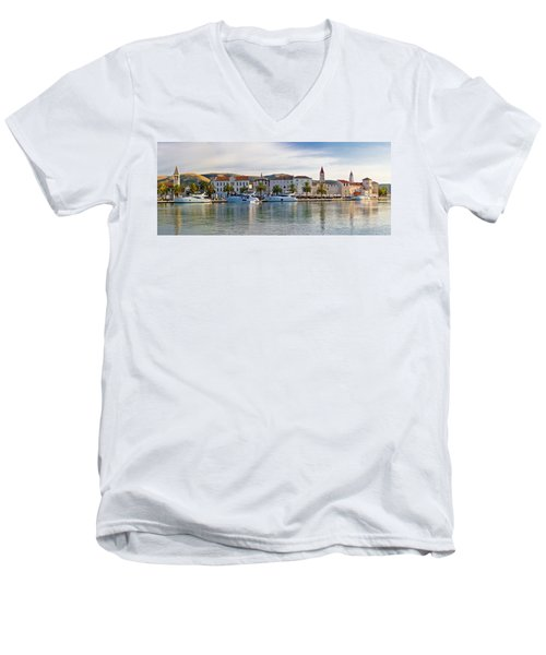 Unesco Town Of Trogit View Men's V-Neck T-Shirt