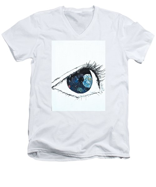 Universal Eye Men's V-Neck T-Shirt