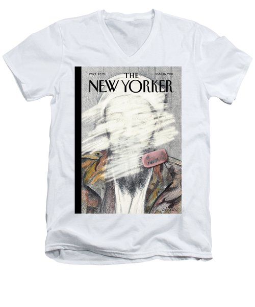 New Yorker May 16th, 2011 Men's V-Neck T-Shirt