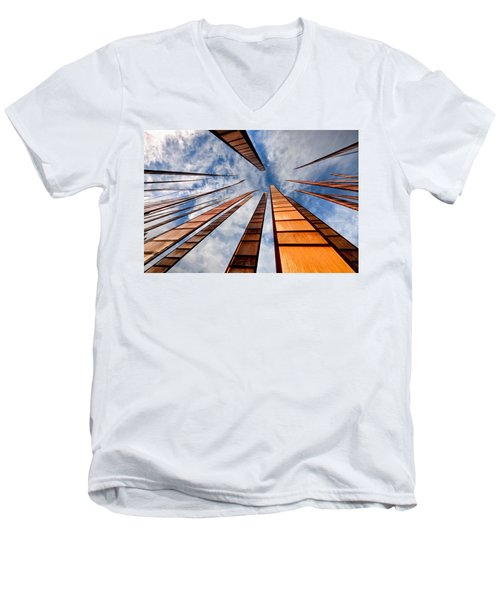 Up Men's V-Neck T-Shirt