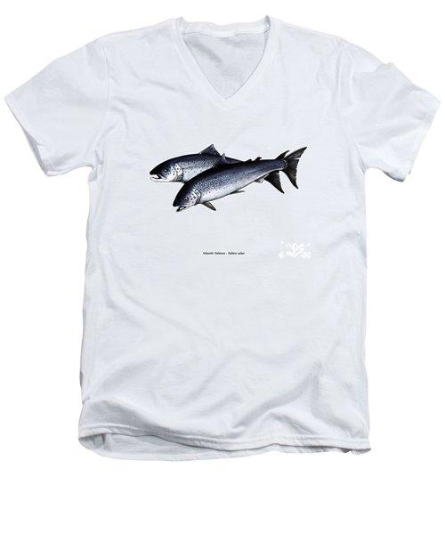 Up River Men's V-Neck T-Shirt