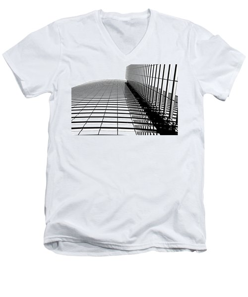 Men's V-Neck T-Shirt featuring the photograph Up Up And Away by Tammy Espino